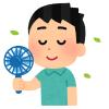 「ある意味ハンディだけどw」…ある力士が使っているハンディ扇風機にツッコミ殺到www