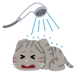 【動画】「お風呂で洗われたくない」という感情は猫をここまで賢くする😹