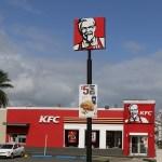「勝てる気がしねえ…」台湾KFCのカーネルおじさんがバッキバキすぎると話題にwww