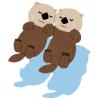 【動画】水族館のラッコ、コロナで休館の間にものすごいワザを身につけるwww