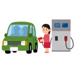 【恐怖】セルフスタンドで代車のハイエースに給油しようと給油口を開けたら…😱