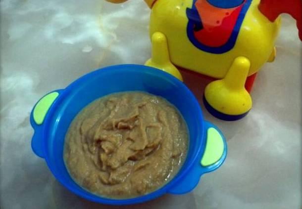Resep Bubur Labu Kuning BIskuit Bayi