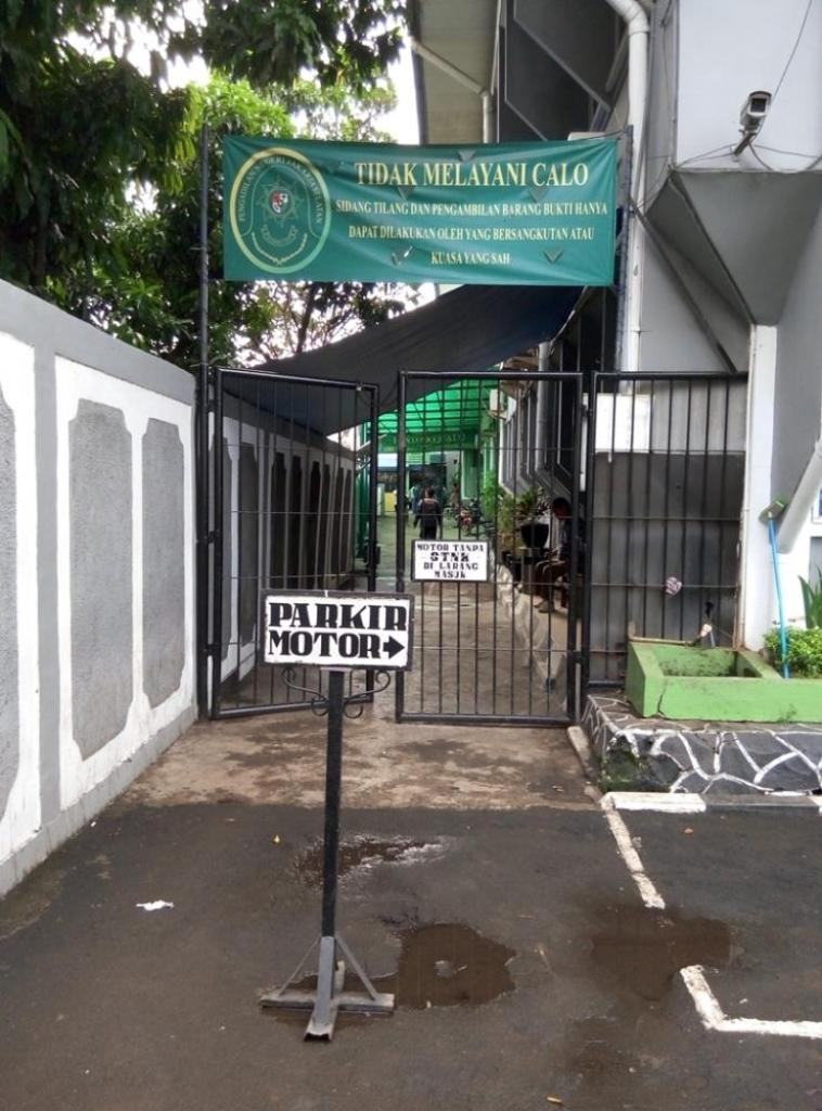 Pojok Kiri Gedung Pengadilan Negeri Jakarta Selatan