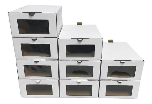 Caja Organizadora Zapatos -12 Unidades Eco (h/ T.46) Promo