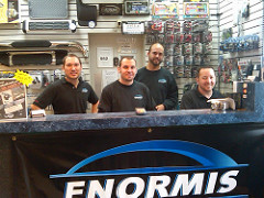 MECP Certified Techs and Product Specialists Ethan, Art, Kenny, and Mike