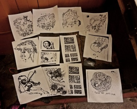 prints on cloth ($5-$10)