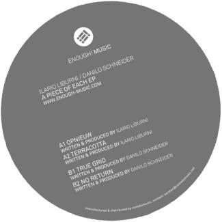 EP // A Piece Of Each – Ilario Liburni, Danilo Schneider