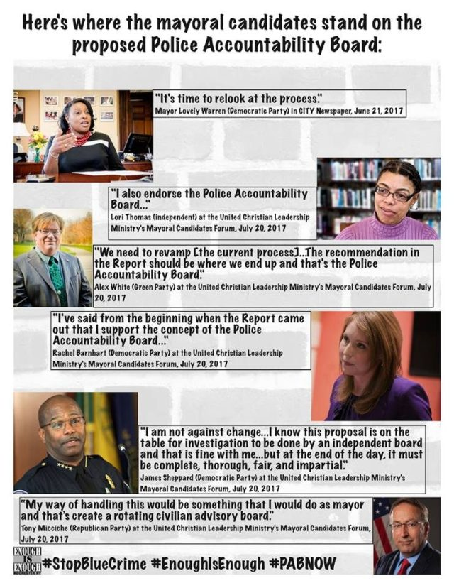 Quotes from Rochester Mayoral Candidates