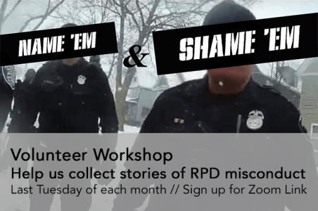 Name 'Em & Shame 'Em Workshop @ Zoom Call