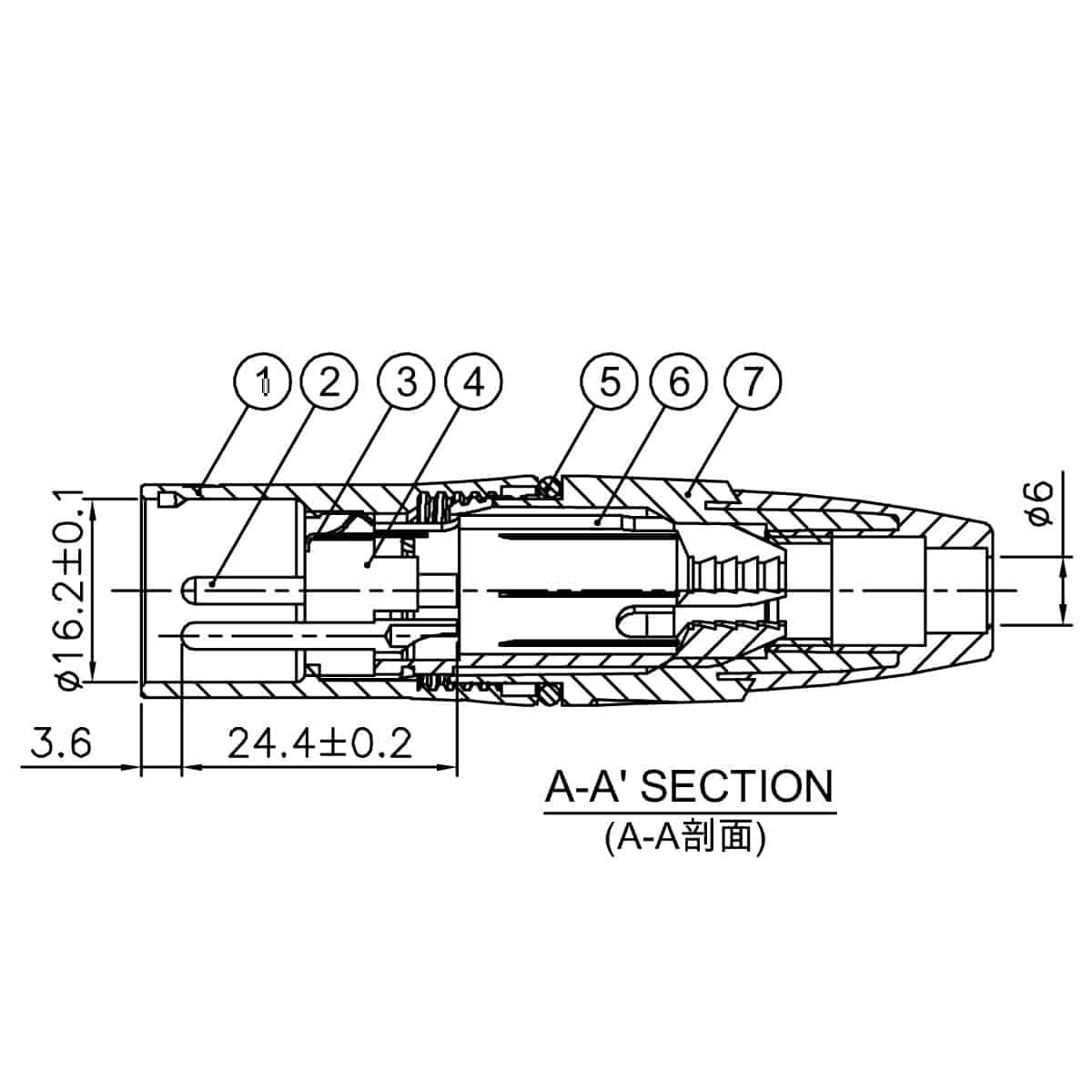 Enova Xlr 3 Pin Male Connector