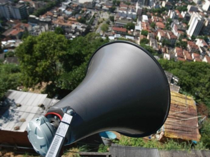 A cidade conta com 18 sirenes no 1º distrito (Foto: Divulgação / Ascom PMP Petrópolis)