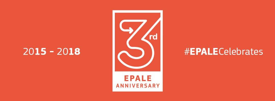 EPALE praznuje; #EPALECelebrates