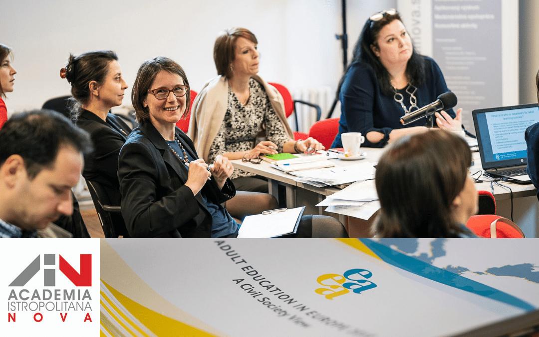 Oblikovanje modernih politik v izobraževanju odraslih