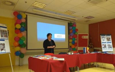 Predstavitev izobraževalnega filma Sporazumevanje v tujih jezikih in jezikovne zmožnosti v RIC Novo mesto