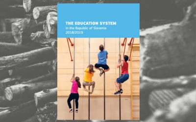 Posodobljena angleška različica publikacije Vzgoja in izobraževanje v Republiki Sloveniji