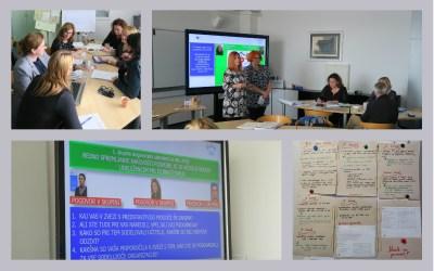 Utrinki s srečanja svetovalcev za kakovost v izobraževanju odraslih