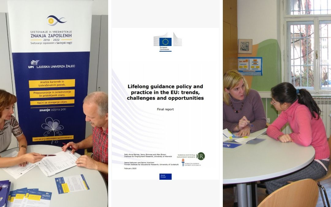 Politika in praksa vseživljenjskega svetovanja v EU: trendi, izzivi in priložnosti