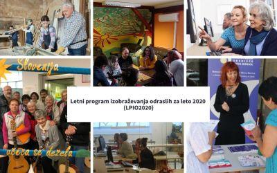 Letni program izobraževanja odraslih za leto 2020