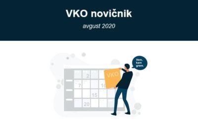 Avgustovska izdaja VKO novičnika