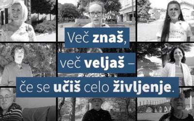 Devet zagovornikov vseživljenjskega učenja navdušuje Slovenijo
