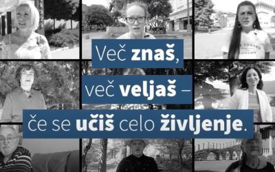 Nine advocates of lifelong learning impress Slovenia