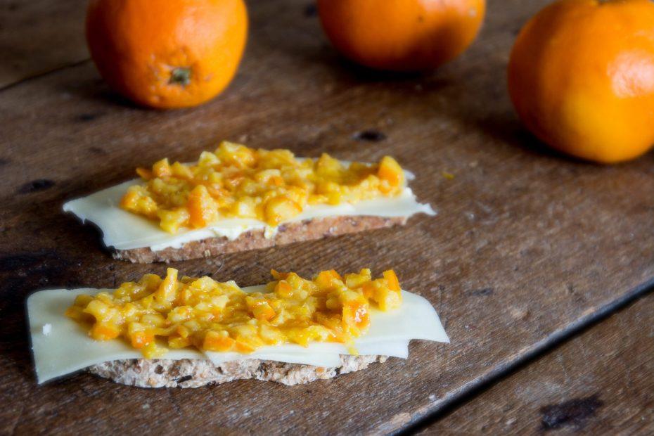 lättsockrad apelsinmarmelad