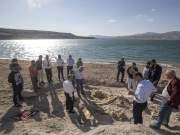 Kayseri, Yamula Baraj Gölü kıyısındaki kazı çalışmalarında 7.5 milyon yıllık fosiller bulundu.