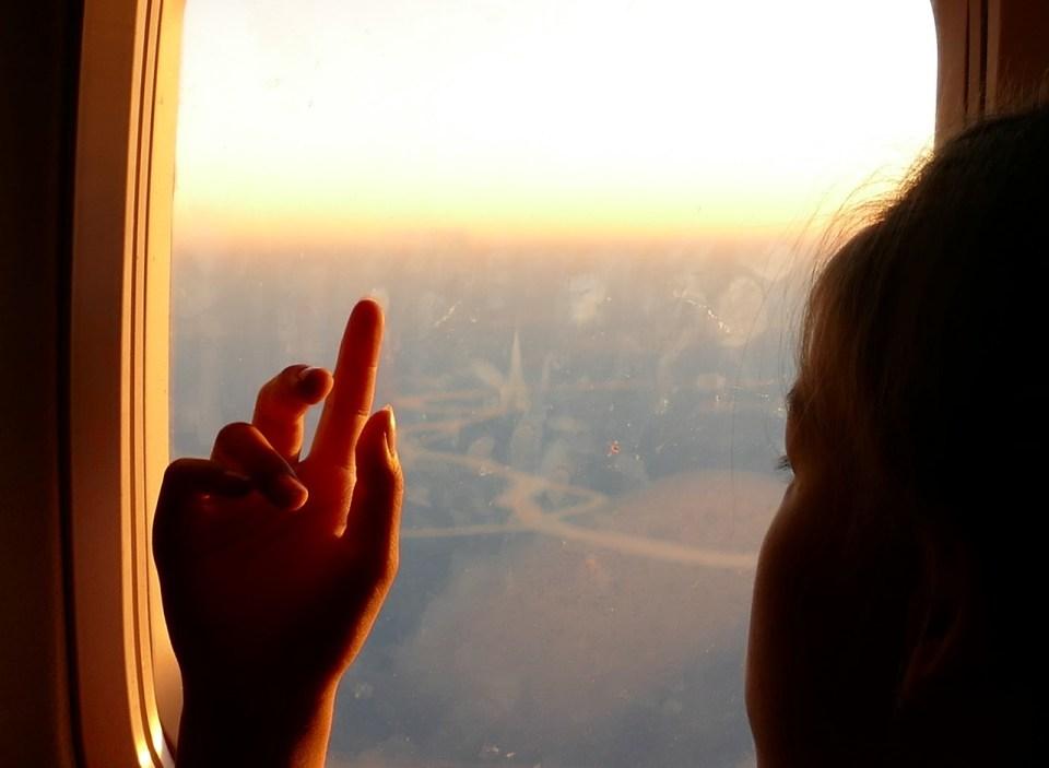 papier identité enfant avion voyage