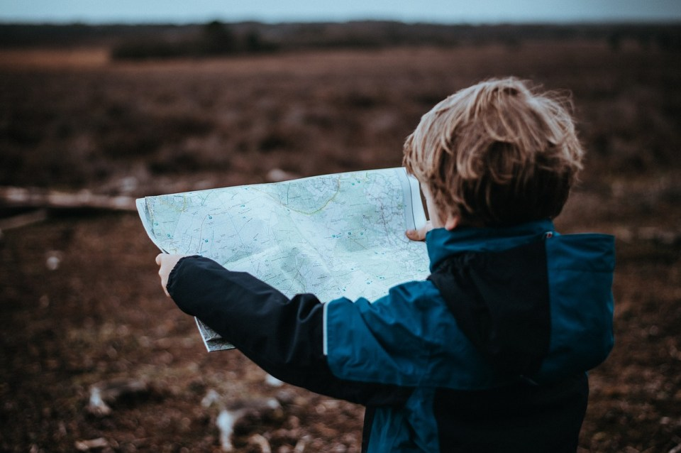 carte voyage guide destination enfants