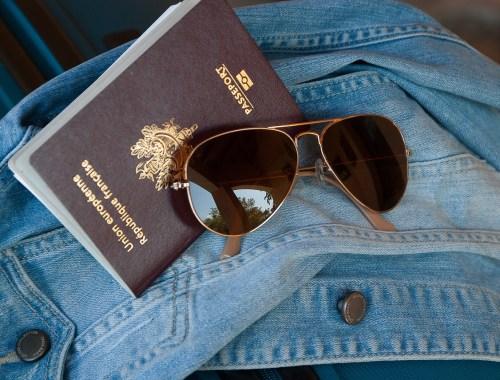 papier identité passeport voyage