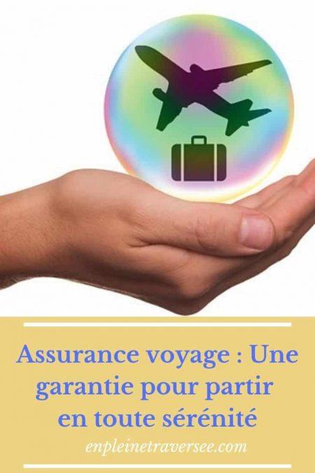 assurance voyage organisation coaching tourisme conseil