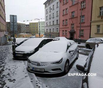 Nieve en Praga ¿Veremos una ciudad bonita cubierta de Nieve?