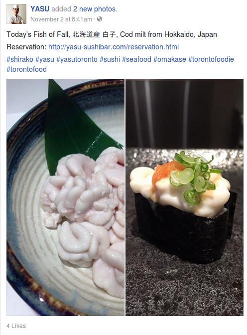 Un sushi de bacalao...