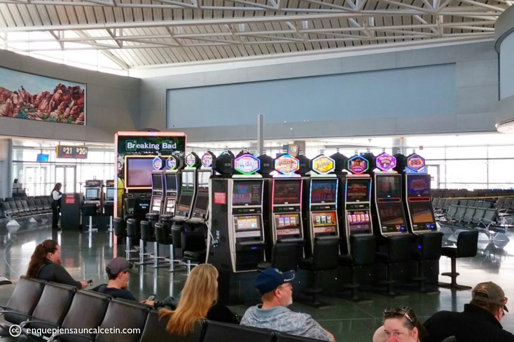 Tragaperras aeropuerto Vegas