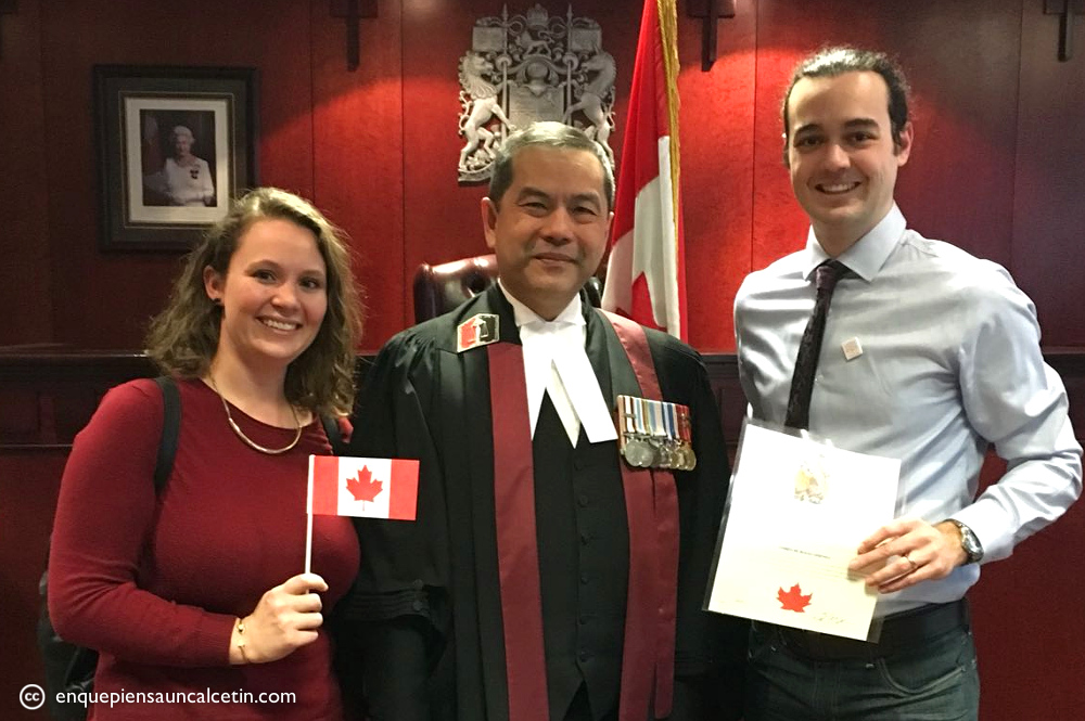 ceremonia ciudadanía canadiense