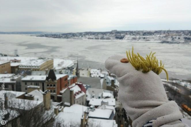 quebec city en invierno
