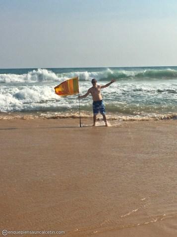 playa bandera