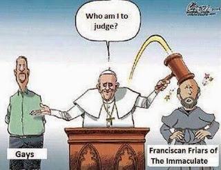 defensor de gay perseguidor de sacerdotes bergoglio