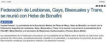 madres de la plaza de mayor apoyan la homosexualidad
