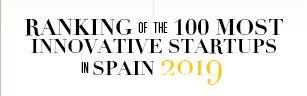 Ranking de las 100 startups más innovadoras de España en 2019