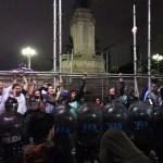 Protesta de los docentes provinciales en solidaridad con CTERA