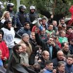 No cede la rebelión de los choferes de colectivos contra el techo salarial