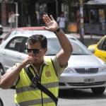 Hay más infracciones de tránsito, pero la mitad de los multados no las paga