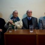 """Los """"magistrados"""" probaron el banquillo de los acusados"""