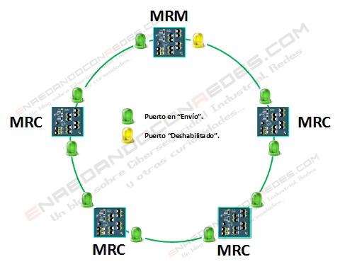 Topología anillo cerrado MRP