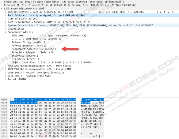 LLDP Wireshark