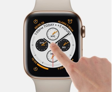 gestos apple watch