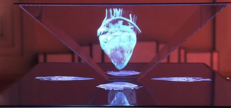 como funcionan los hologramas