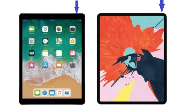 encender diferentes modelos ipad