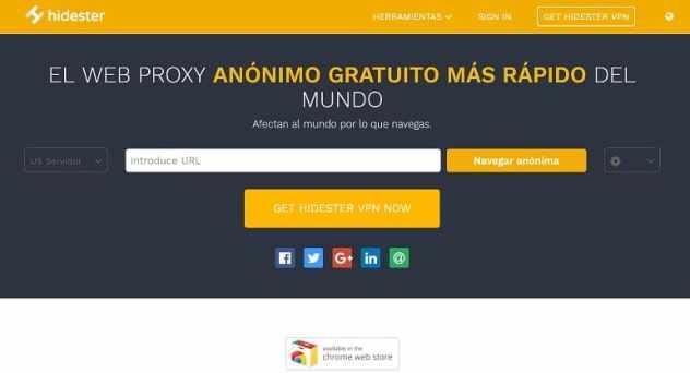 hidester proxy web
